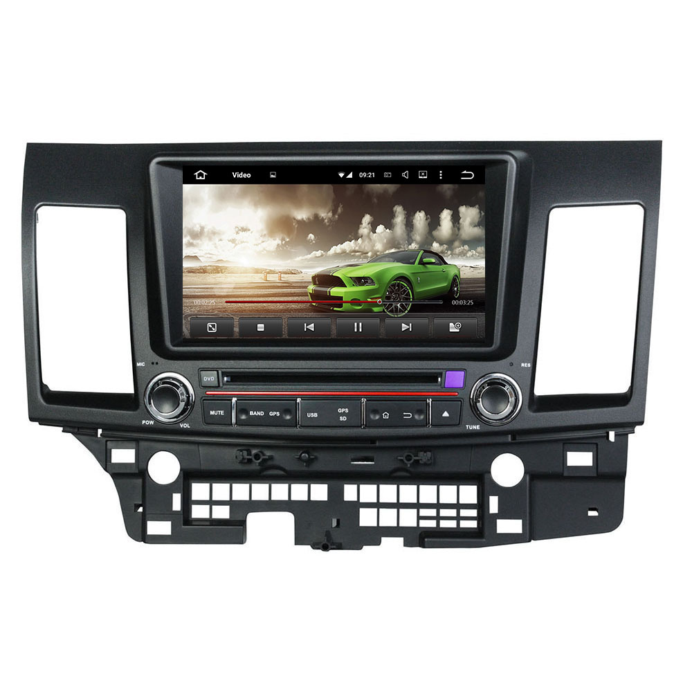 8″ Android 6.0 Octa-core Car DVD Player For MITSUBISHI Lancer 2006-2012 Car Video Audio Stereo Free MAP Car Multimedia Player