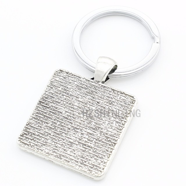 Christian Jesus Keychain Pendant Jewelry Bag Charm Goddess Keyrings Holder Special Accessories E547