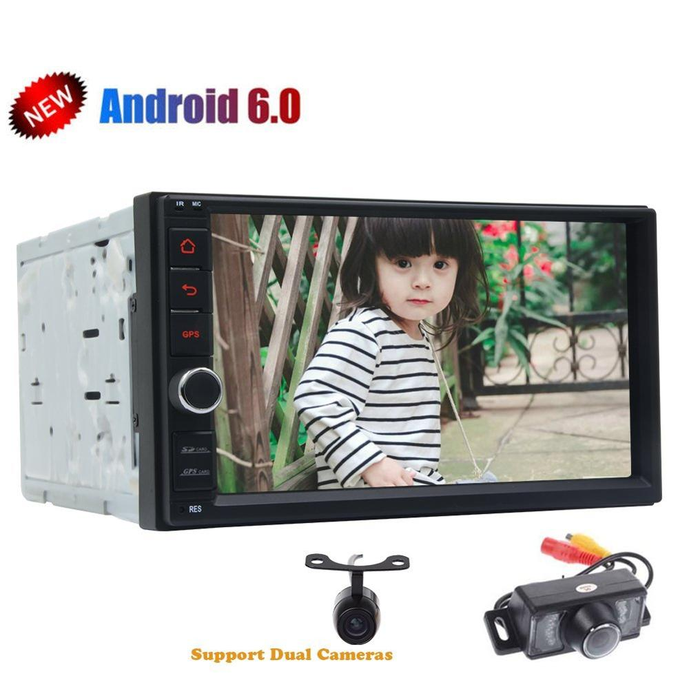 car autoradio 2din android6 0 gps radio tape recorder 2din audio player android headunit browser. Black Bedroom Furniture Sets. Home Design Ideas