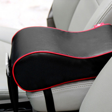 CNIKESIN Automobile Decoration Armrest Box Pad Ease Arm Ache Memory Cotton Handrail Box Heighten Pad For AUDI FORD VW BMW