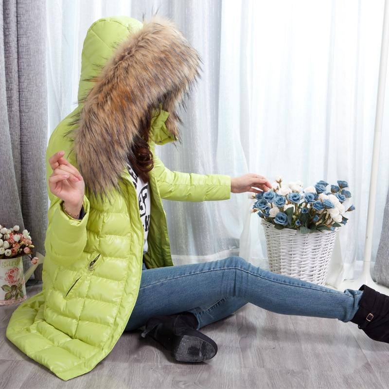 Doux 2018 Noir À Veste Femmes vert Fille rhodo Parkas Hiver Fahion Clair D'hiver Manteau Capuchon Wx8IS5P5wq