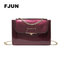 FJUN 2018 Fashion Lady Candy Colors Women S Shoulder Bags Small Saddle Cute Simple Pouch Bags