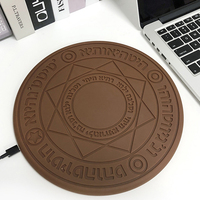 1pc Qi Wireless Charger Magic Array Qi Wireless Fast Charger Pad Mat 5W 10W for iPhone x for Phone