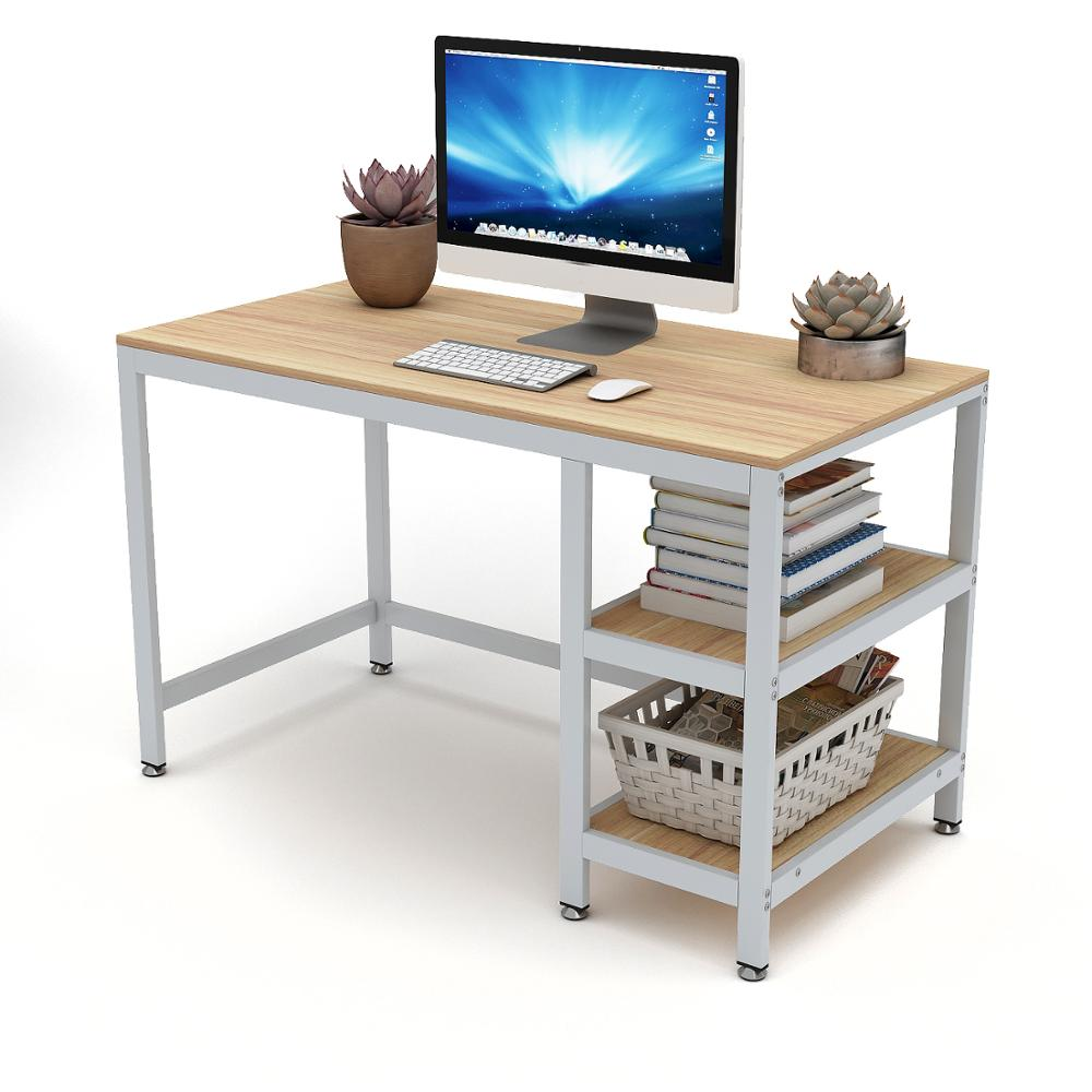 "DEWEL Computer Desk With Drawer 47"" Executive Desk Office Write Desk PC Laptop Workstation Space-Saving Study Desk With Storage"
