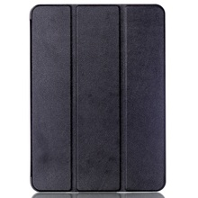 Tri-fold Stand Smart Leather Case for Samsung Galaxy Tab S2 9.7 T810 T815 Lychee Texture