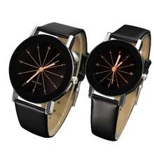Любителей моды смотреть Для женщин Для мужчин часы Пара наручные часы для дам женские и мужские кварцевые наручные часы подруги бойфренда подарки