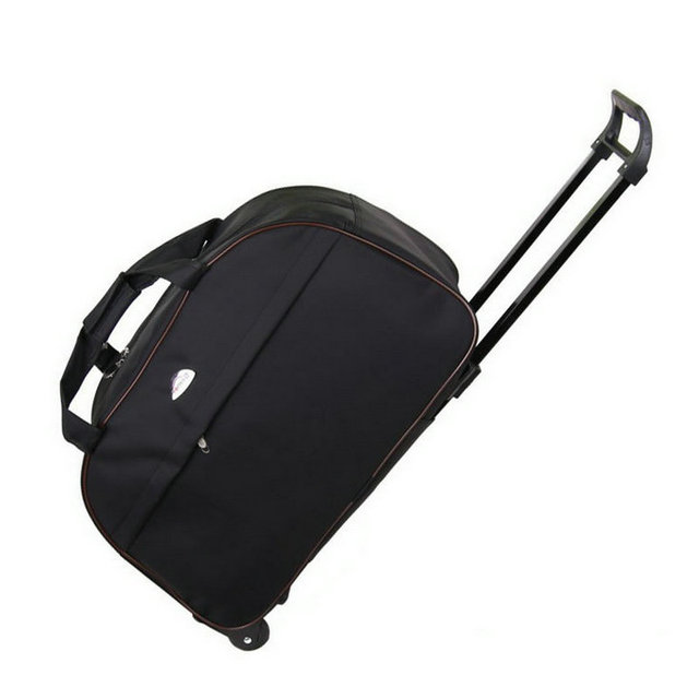 Fashion Luggage Trolley Bag Women Travel Bags Hand Unisex