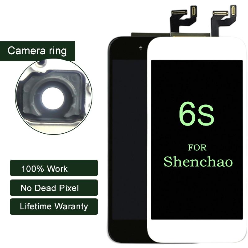 10 PCS/LOT Pour l'iphone 6 S LCD Affichage Pour Shenchao Qualité Avec Écran Tactile Digitizer 4.7 Pouce Pour iphone LCD Pièces d'assemblage