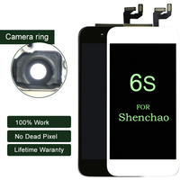 10PCS For Shenchao Quality For IPhone 6s LCD Full Assembly With 3D Touch Screen Replacement Lens