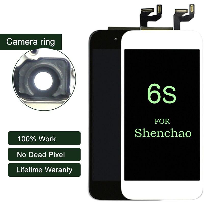 10 pcs/lot Pour iphone 6 s LCD Affichage Pour Shenchao Qualité Avec Écran Tactile Digitizer 4.7 pouce Pour iphone LCD pièces d'assemblage