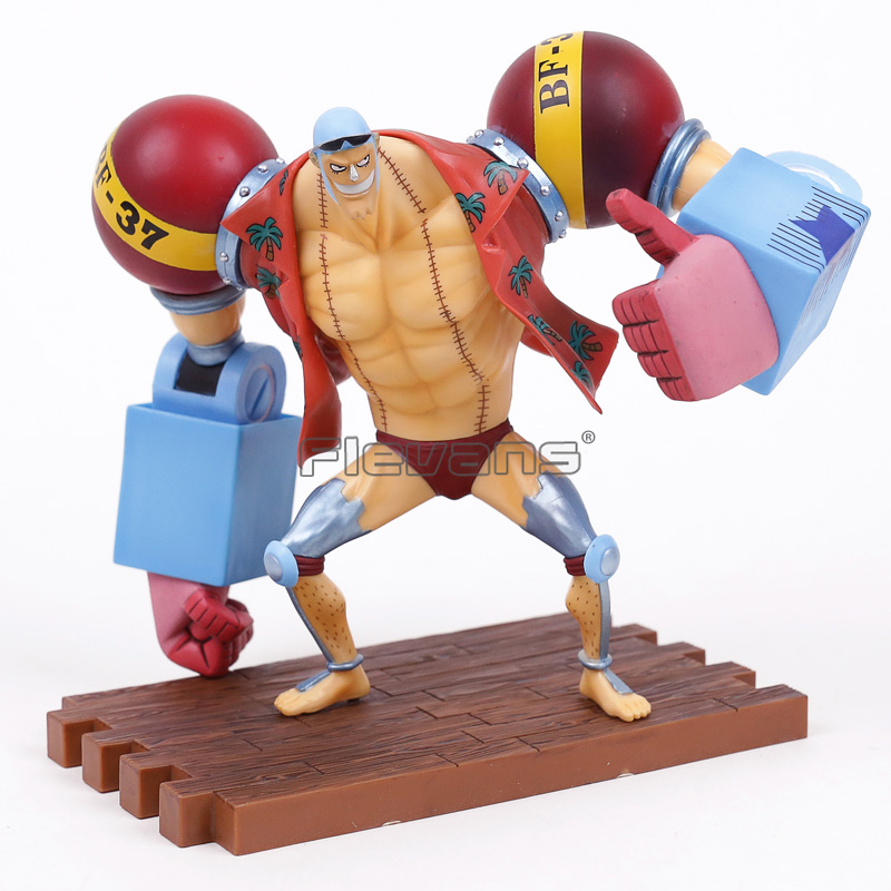 Anime One Piece Ichiban Kuji Franky 20th Anniversary ver. PVC Figure Collectible Model Toy anime one piece luffy vs trafalgar law 5th anniversary pvc action figure collectible model toy 16cm opfg511