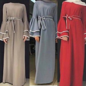 Image 1 - דובאי העבאיה קפטן חיג אב מוסלמי אופנה שמלת קפטן טורקיה Abayas לנשים אירופאי תורכי אסלאמי בגדי Musulman דה מצב