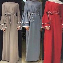 Dubai Abaya Kaftan Hijab Muslim Fashion Dress Caftan Turkey Abayas For Women European Turkish Islamic Clothing Musulman De Mode