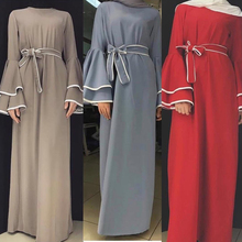 Dubaj Abaya Kaftan hidżab moda muzułmańska sukienka Kaftan turcja Abayas dla kobiet europejska turecka islamska odzież Musulman De Mode