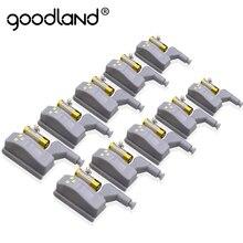 Goodland LED Gece Lambası Otomatik sensörlü ışık Gardırop Iç Menteşe Lambası dolap ışığı Için Pil Ile Mutfak Dolap Dolap