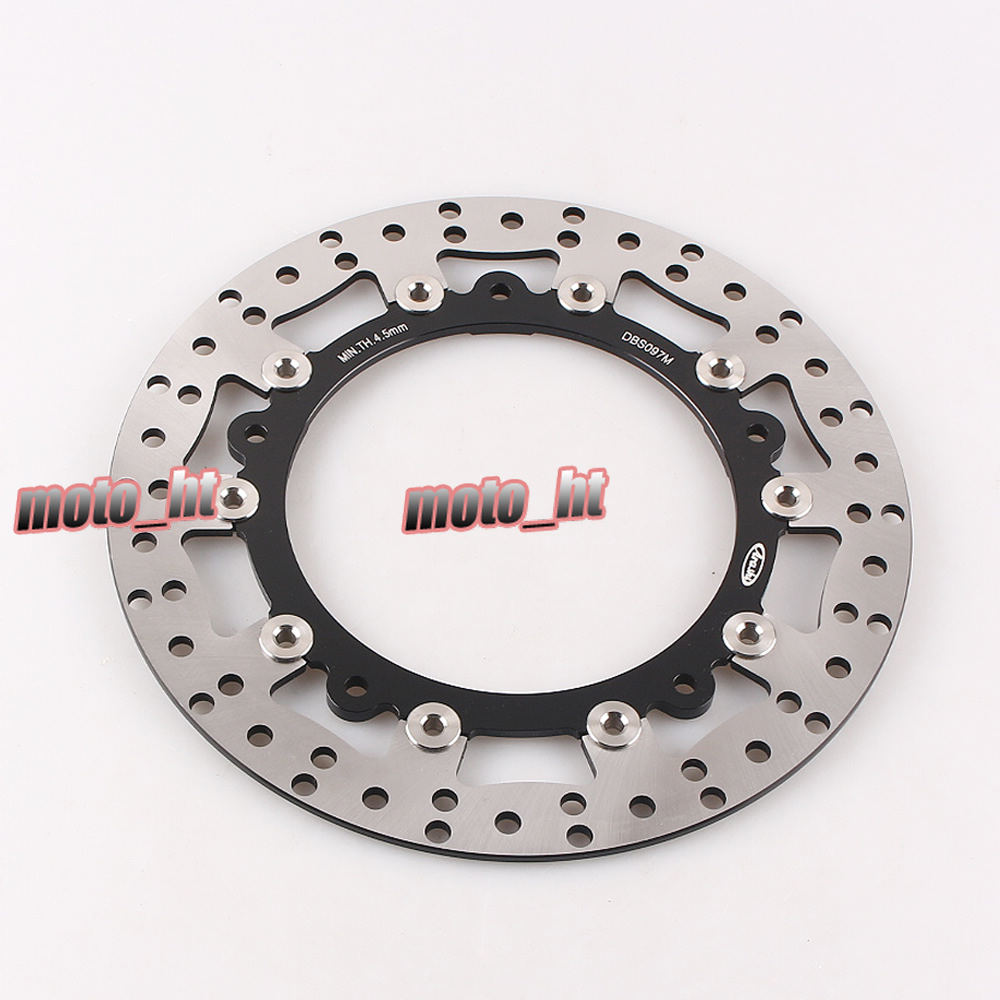 Front Brake Disc Rotor for BMW R850C 1998-2001 & R850GS 1998-2007 & R1100GS 1997-2001 & R1100S 1998-2000 &  R1150GS 1999-2001 2x front brake rotors disc braking disk for moto guzzi breva griso 850 2006 california 1100 ev 1996 2000 griso 1200 8v 2007 2011