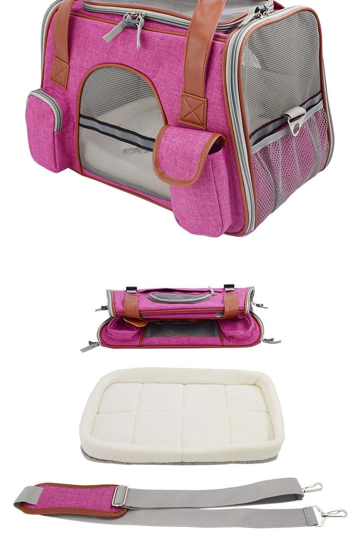 Breathable K9 Dog Backpack Carrier 19
