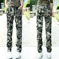 2017 summer Camouflage pants straight pants casual trousers out door Carga cotton pants Packets tooling Women pants Z959