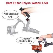 EACHSHOT WB-Grip for Zhiyun Weebill Lab Handle Grip for Zhiyun WEEBILL LAB/Smooth 4 3-Axis Handheld Gimbal Stabilizer