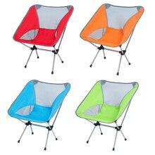 Сверхлегкий складной стул для путешествий сверхпрочный высокой нагрузки стул для кемпинга, отдых на открытом воздухе Портативный пляжный походный коврик рыболовные инструменты стул