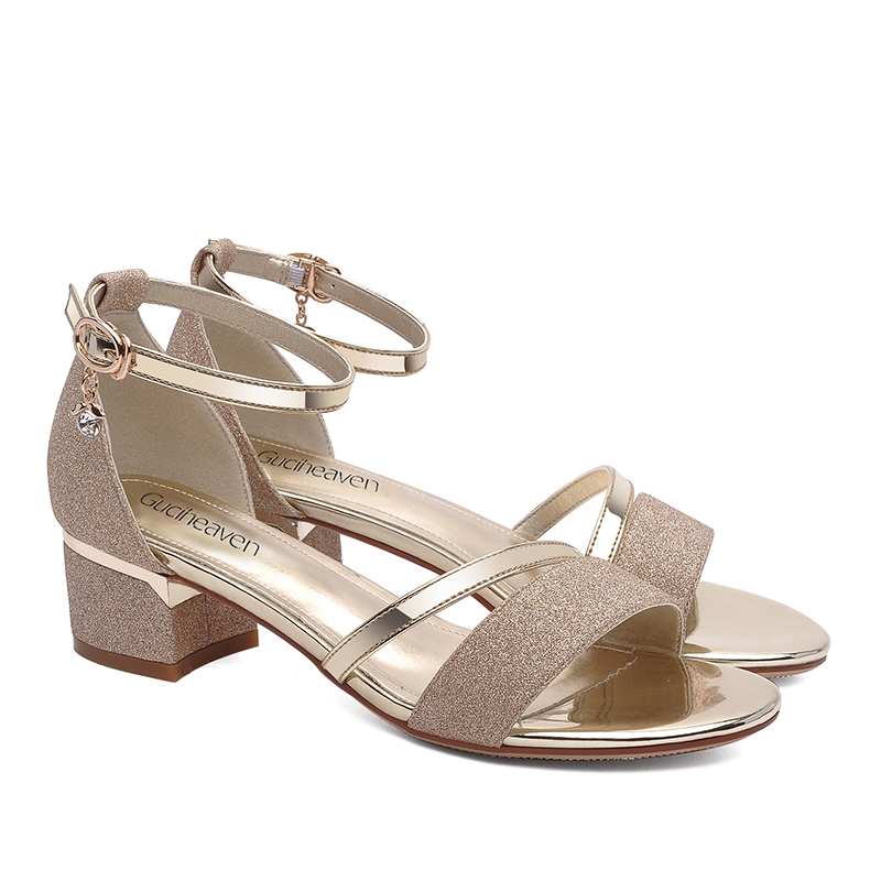 2018 Summer Guciheaven Woman Casual Open Toe Ankle Strap Sandals Size eur34 40