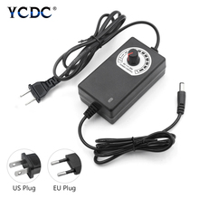Adjustable AC to DC 3V-12V 9V-24V Universal adapter voltage Regulated power supply adatpor 3 12 24 v For LED Strip CCTV Camera