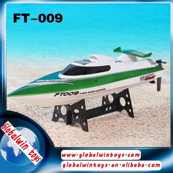 Feilun FT009 2.4 G canales de agua de refrigeración alta velocidad RC Racing barco RTF juguete
