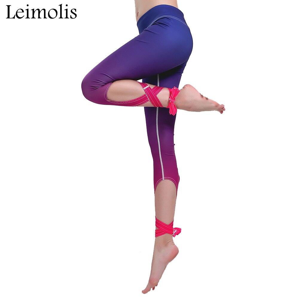 Leimolis 3d print Last Flame gothic bowknot ribbons plus size High Waist workout punk rock fitness leggings women pants