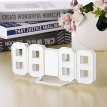 8 Shaped LED Display Desktop Digital Table Clocks Multi-use Thermometer Hygrometer Calendar Weather Station Forecast Clock Home