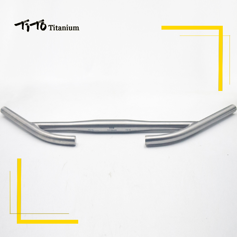 все цены на TiTo titanium Bicycle rest handlebar titanium mountain bike MTB or Road bike parts for Long distance riding 31.8 and 25.4