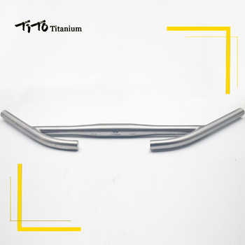 TiTo titanium Bicycle rest handlebar titanium mountain bike MTB or Road bike parts for Long distance riding 31.8 and 25.4 - DISCOUNT ITEM  10% OFF All Category