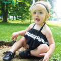 Humor do Urso do bebê roupas meninas define crianças roupas de bebê meninas roupas de Verão 2016 Estilo de Roupas Infantis Conjuntos de Roupas de Bebê