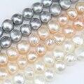 11-12mm color blanco grande barroco de perlas, cultivadas de agua dulce perlas pepita bead cadena al por mayor, irregular perlas forma