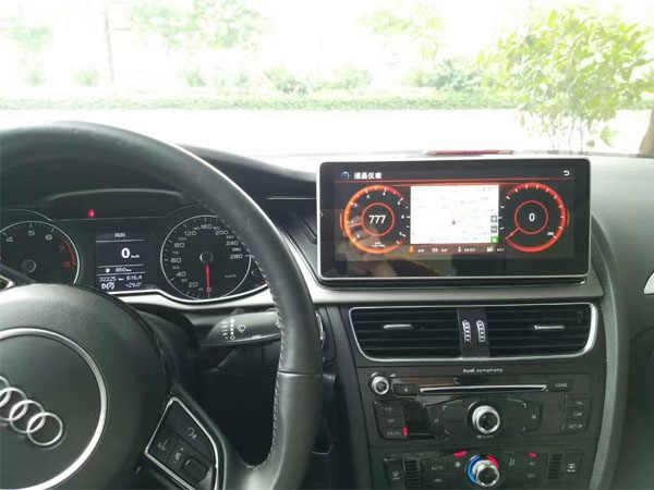 OZGQ 10.25 ''インチ車のマルチメディアラジオプレーヤーのための 2009-2016 アウディ A4 A5 Q5 2 グラム MMi GPS ナビゲーション車のステレオ
