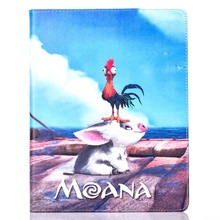 Tablet Case for Apple ipad mini 1 / 2 / 3 fashional MOANA movie prints PU leather protective Cover stand shell coque para capa цена 2017