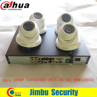 Dahua XVR5104HE 2MP 4 Ch dvr kit 1080P Lite Mini 1U Digital Video Recorder Support HDCVI AHD TVI CVBS and IP Network Camera