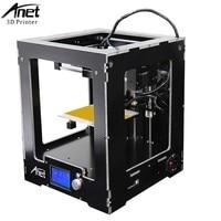 Anet A3S A6 A2 A8 FDM Desktop 3D Printer Kits Reprap i3 DIY Self LCD Screen 3d Printer Kit with 8GB SD Card Large Printing Size