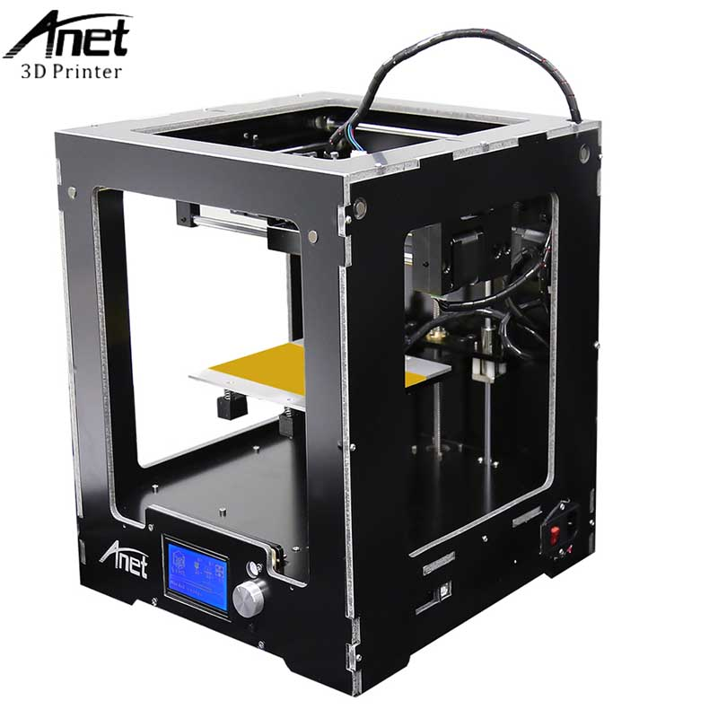 Anet A3S A6 A2 A8 FDM Desktop 3D Printer Kits Reprap i3 DIY Self LCD Screen 3d Printer Kit with 8GB SD Card Large Printing Size anet a8 high accuracy desktop 3d printer 100mm s diy 3d printing kit large printing size support abs pla wood pva pp luminescent