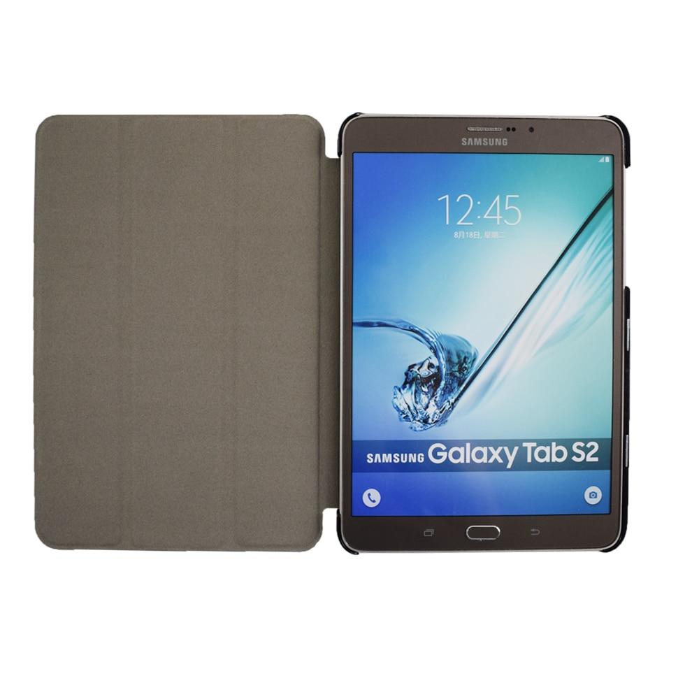 Funda con funda para libro inteligente para el Tab S2 T710 T715 T713 - Accesorios para tablets - foto 3