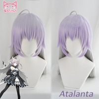 AniHut Alter Atalanta Fate Grand Order Cosplay Wig Synthetic Mixed Color Women Hair FGO Cosplay Halloween Costumes Hair