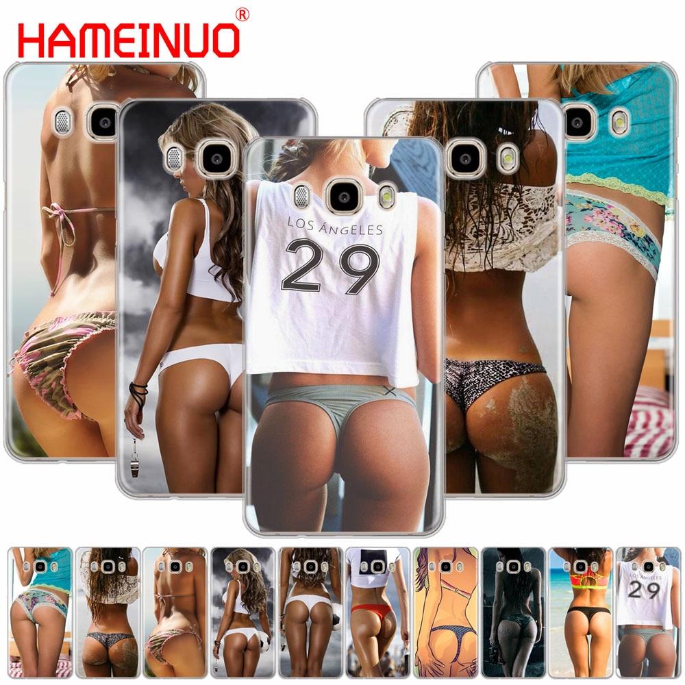 HAMEINUO Sexy ass Underwear Bikini Woman girl cover phone case for Samsung Galaxy J1 J2 J3 J5 J7 MINI ACE 2016 2015 prime