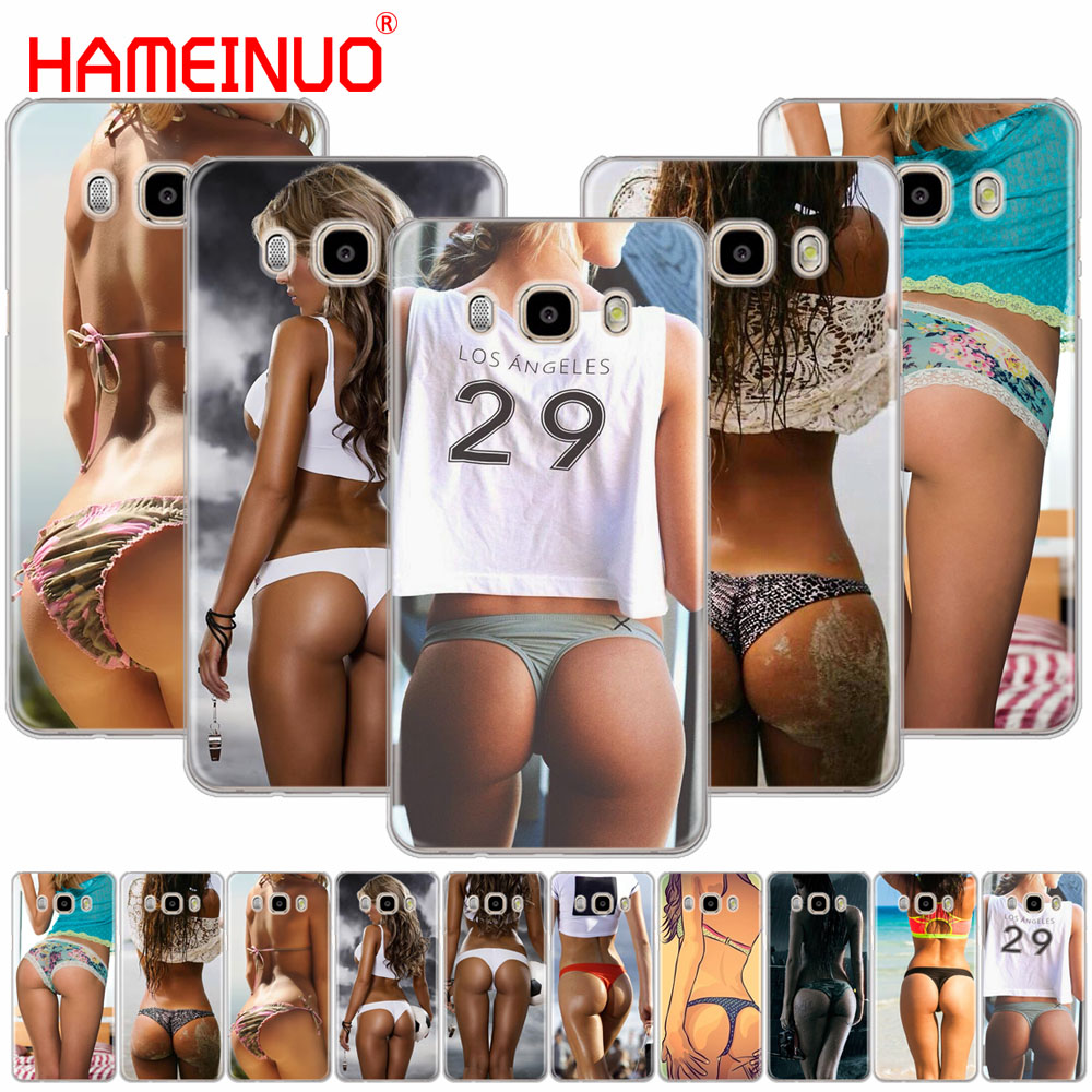 HAMEINUO <font><b>Sexy</b></font> ass Underwear Bikini Woman <font><b>girl</b></font> cover phone <font><b>case</b></font> for Samsung <font><b>Galaxy</b></font> J1 J2 J3 <font><b>J5</b></font> J7 MINI ACE <font><b>2016</b></font> 2015 prime image