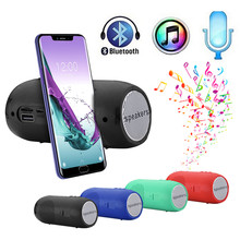 лучшая цена Portable Wireless Bluetooth Stereo SD Card FM Speaker For Smartphone Tablet PC  6.17