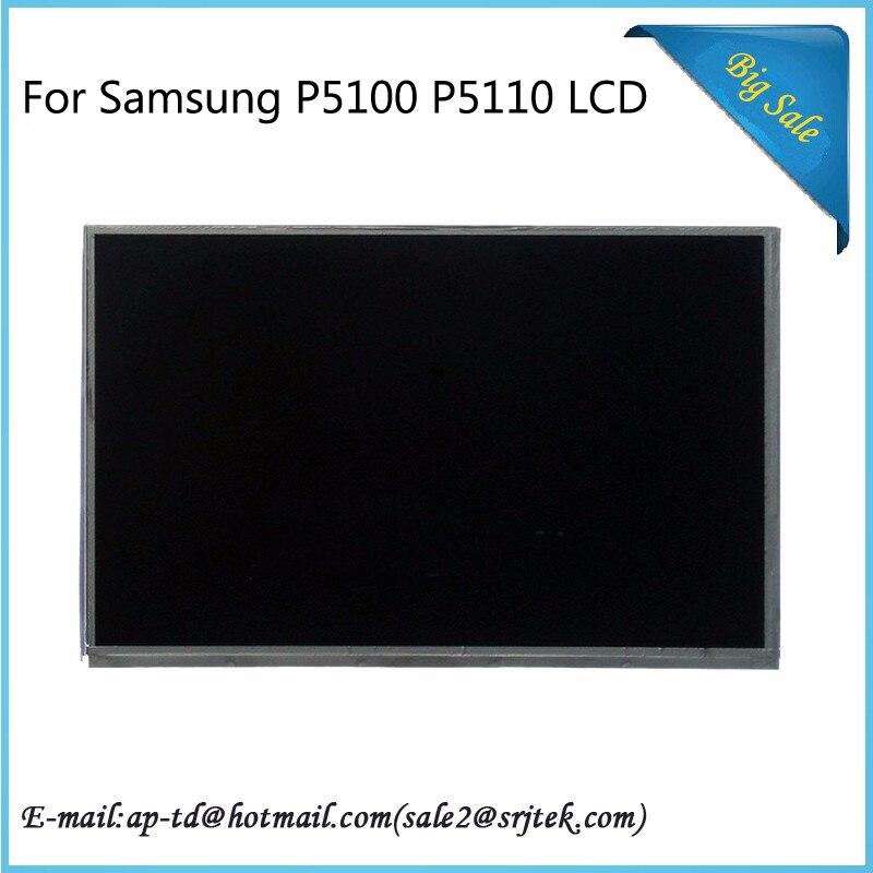 Srjtek 10.1'' For Samsung Galaxy Tab 2 P5100 P5110 LCD Display Screen LTN101AL03 LTN101AL06 Tablet Pc LCD Panel tab 2 5100 задняя крышка