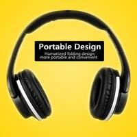 Bluetooth Kopfhörer Über Ohr mit Mic Hallo-fi Stereo Headset Faltbare Weiche Memory-Protein Ohrenschützer für iPhone Laptop etc