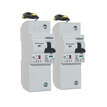 2PCS The second generation 1P WiFi Smart Circuit Breaker with Energy monitoring compatible Alexa and Google for home