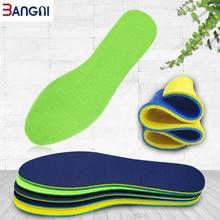 3ANGNI Dubbelsidig andningsskyddande slitstark mjukt komfortabelt sportkorg som löper in sulor för män damskor skor sits