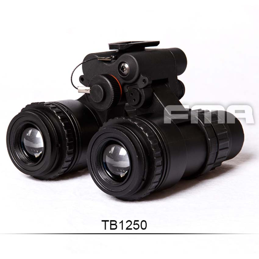 FMA Update Version Binocular NVG Night Vision Goggle Nonfunctional Metal Model Dummy PVS-15 TB1250 free shipping hd1 3mp 3 in1 digital industrial microscope camera vga outputs standard c mount mini 5x 100x c mount zoom lens