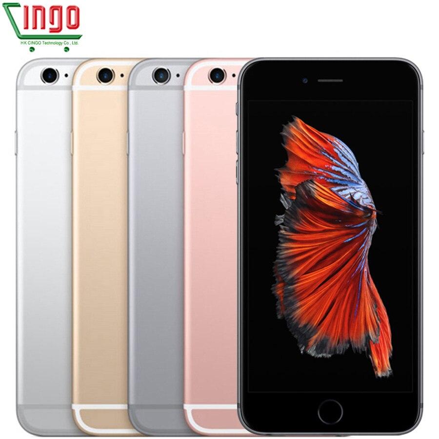 Ecouteurs earpod Apple iPhone 6 s Dual Core 2 gb RAM 16/64/128 gb ROM IOS 4.7'' 12.0MP Caméra D'empreintes Digitales LTE Téléphone Portable D'occasion iPhone6s