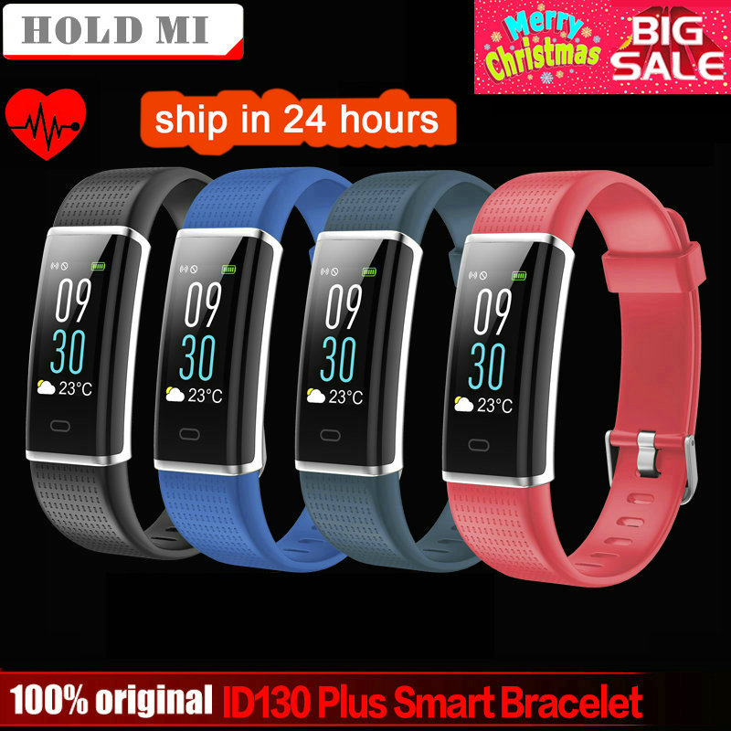Halten mi ID130 Plus Farbe Smart armband Herz rate Uhren Smart armband Fitness tracker Smart band PK mi band 3 honor band 3